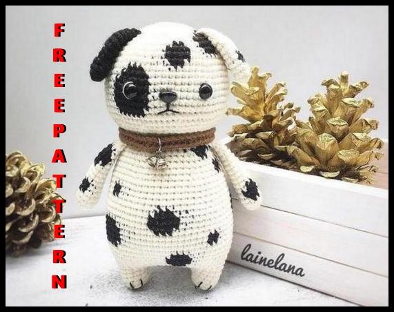dog free amigurumi pattern